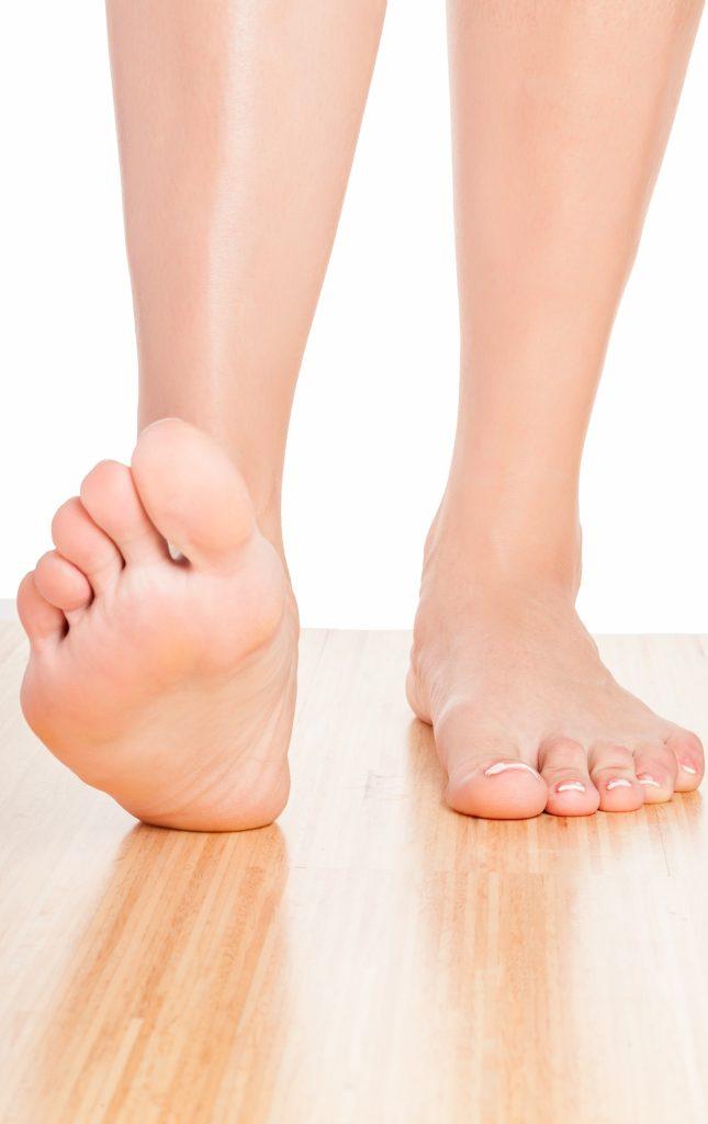 Human Foot.